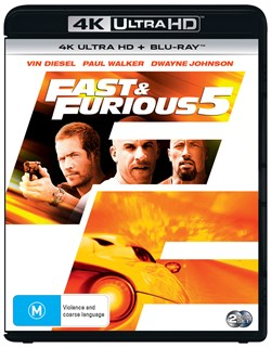 Fast & Furious 5 (4K Ultra HD + Blu-ray + Digital Download) [UHD]