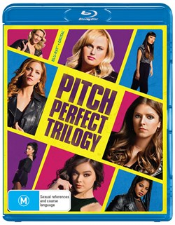 Pitch Perfect Trilogy (Box Set) [Blu-ray]
