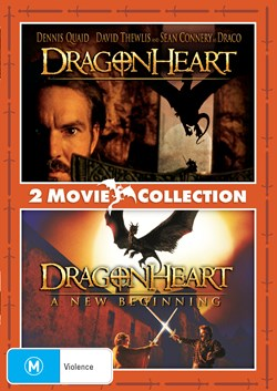 Dragonheart/Dragonheart: A New Beginning [DVD]