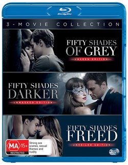 Fifty Shades: 3-movie Collection (Box Set) [Blu-ray]