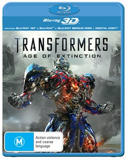Transformers: Age of Extinction (3D Edition with 2D Edition + UltraViolet Copy) [Blu-ray]