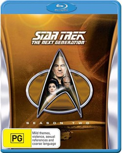 Star Trek the Next Generation: The Complete Season 2 (Box Set) [Blu-ray]