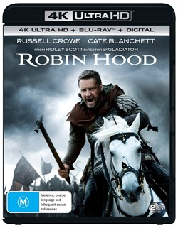 Robin Hood (4K Ultra HD + Blu-ray + Digital Download) [UHD]