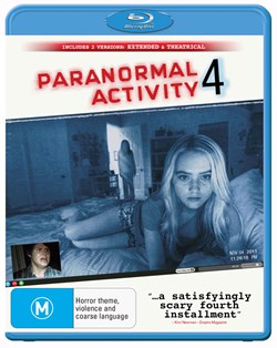 Paranormal Activity 4: Extended Edition [Blu-ray]