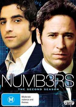 Numb3rs: The Second Season [DVD]