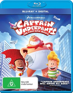 Captain Underpants: The First Epic Movie [Blu-ray]