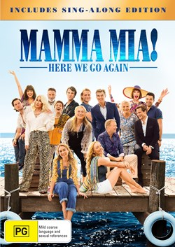 Mamma Mia! Here We Go Again (with Digital Download) [DVD]