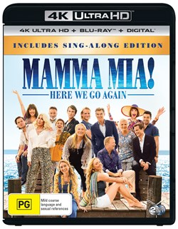 Mamma Mia! Here We Go Again (4K Ultra HD + Blu-ray + Digital Download) [UHD]