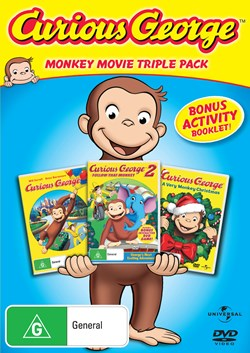 Curious George/Curious George 2 - Follow That Monkey/Curious... (Box Set) [DVD]