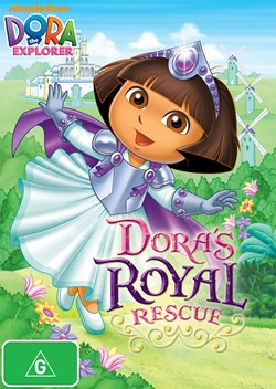 Dora the Explorer: Dora's Royal Rescue [DVD]