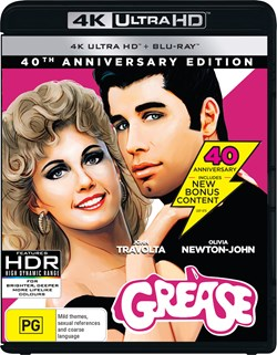 Grease (4K Ultra HD + Blu-ray (40th Anniversary)) [Blu-ray]