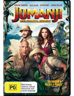 Jumanji: Welcome to the Jungle [DVD]