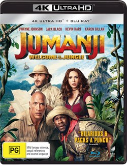 Jumanji: Welcome to the Jungle (4K Ultra HD + Blu-ray) [UHD]