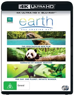 Earth - One Amazing Day (4K Ultra HD + Blu-ray) [UHD]