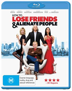 How to Lose Friends and Alienate People [Blu-ray]