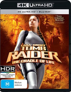 Lara Croft - Tomb Raider: The Cradle of Life (4K Ultra HD + Blu-ray + Digital Download) [UHD]