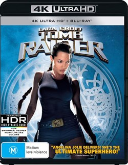 Lara Croft - Tomb Raider (4K Ultra HD + Blu-ray + Digital Download) [UHD]