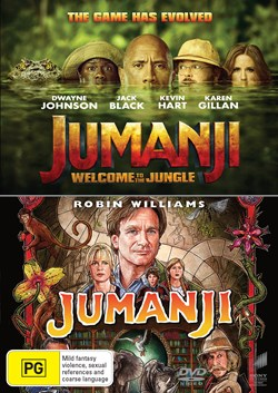 Jumanji/Jumanji - Welcome to the Jungle [DVD]
