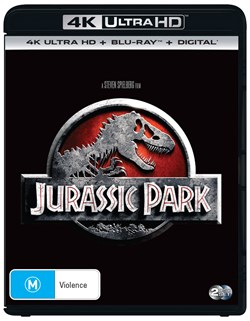 Jurassic Park (4K Ultra HD + Blu-ray + Digital Download) [UHD]