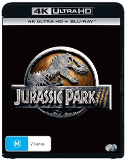 Jurassic Park 3 (4K Ultra HD + Blu-ray + Digital Download) [UHD]