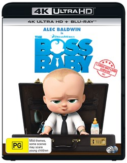 The Boss Baby (4K Ultra HD + Blu-ray + Digital Download) [UHD]