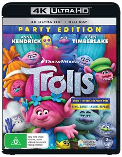 Trolls (4K Ultra HD + Blu-ray) [UHD]