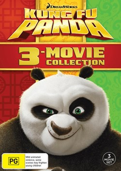 Kung Fu Panda: 3-movie Collection (Box Set) [DVD]