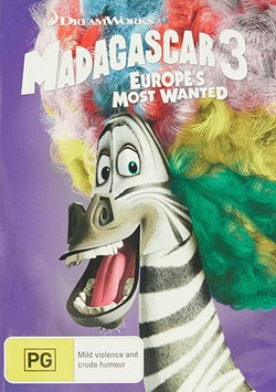 Madagascar 3 - Europe's Most Wanted [DVD]