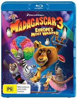 Madagascar 3 - Europe's Most Wanted [Blu-ray]