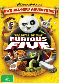Kung Fu Panda: Secrets of the Furious Five [DVD]