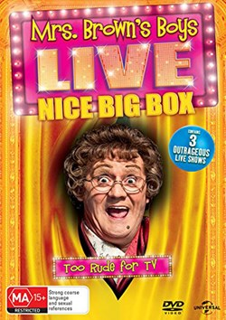 Mrs Brown's Boys: Live - Nice Big Box (Box Set) [DVD]