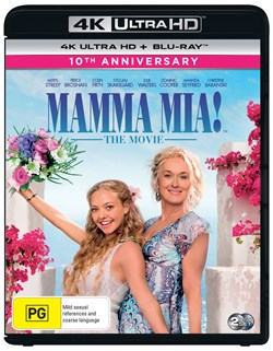 Mamma Mia! (4K Ultra HD + Blu-ray (10th Anniversary)) [Blu-ray]