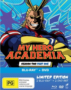 My Hero Academia: Season Two, Part One (with DVD - Double Play) [Blu-ray]