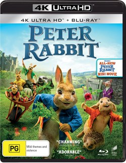 Peter Rabbit (4K Ultra HD + Blu-ray) [UHD]