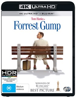 Forrest Gump (4K Ultra HD + Blu-ray + Digital Download) [UHD]