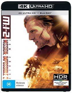 Mission: Impossible 2 (4K Ultra HD + Blu-ray) [UHD]