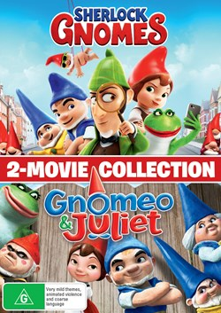 Gnomeo and Juliet/Sherlock Gnomes [DVD]