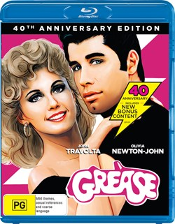 Grease (40th Anniversary Edition) [Blu-ray]