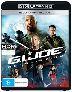 G.I. Joe: Retaliation (4K Ultra HD + Blu-ray) [UHD]