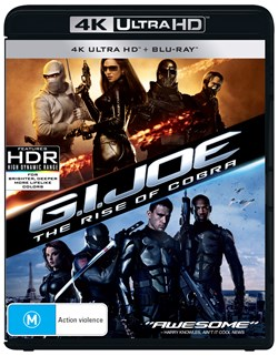 G.I. Joe: The Rise of Cobra (4K Ultra HD + Blu-ray) [UHD]