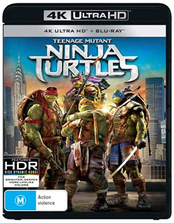 Teenage Mutant Ninja Turtles (4K Ultra HD + Blu-ray) [UHD]