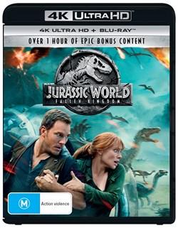 Jurassic World - Fallen Kingdom (4K Ultra HD + Blu-ray + Digital Download) [UHD]