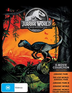 Jurassic World: 5-movie Collection (Box Set) [Blu-ray]