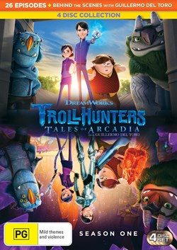 Trollhunters - Tales of Arcadia: Series One (Box Set) [DVD]