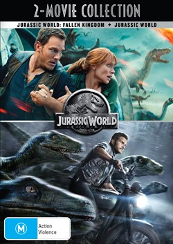 Jurassic World/Jurassic World - Fallen Kingdom [DVD]