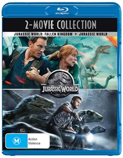 Jurassic World/Jurassic World - Fallen Kingdom [Blu-ray]