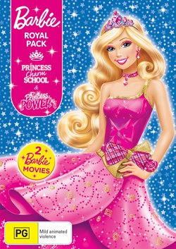 Barbie Royal: Princess Charm School/Princess Power [DVD]
