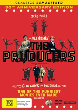 The Producers (50th Anniversary Edition) [DVD]