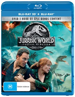Jurassic World - Fallen Kingdom (3D Edition with 2D Edition) [Blu-ray]
