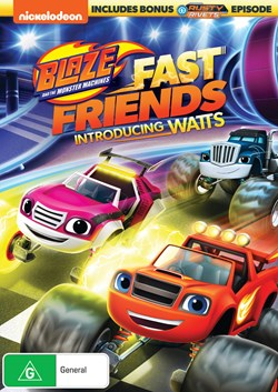 Blaze and the Monster Machines: Fast Friends! [DVD]